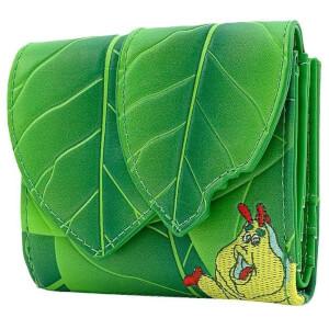 Loungefly Disney Pixar A Bugs Life Leaf Flap Wallet