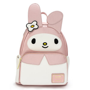 Loungefly Sanrio Hello Kitty My Melody Cosplay Mini Pu Backpack