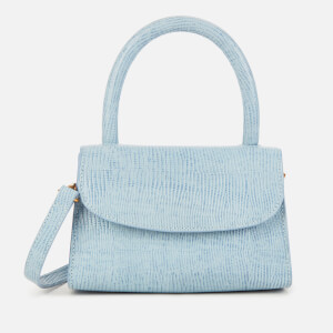 by FAR Women's Mini Lizard Bag - Sky Blue