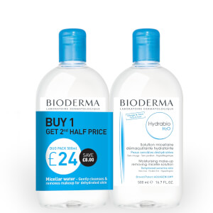 Bioderma Hybrabio H2O 500ml Duo Pack
