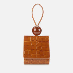 by FAR Women's Ball Croco Bag - Tan