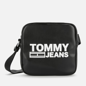 Tommy Jeans Women's Texture Cross Body Bag - Black