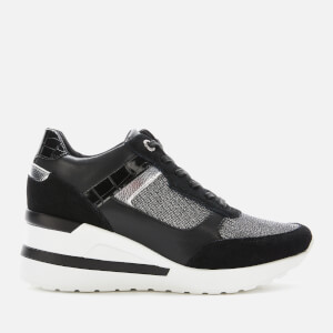 Dune Women's Elouera Wedged Trainers - Black