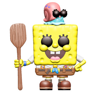 Spongebob Movie Spongebob in Camping Gear Pop! Vinyl Figure