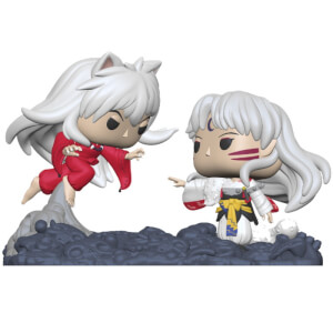 Inuyasha - Inuyasha vs Sesshomaru Figura Funko Pop! Comic Moment