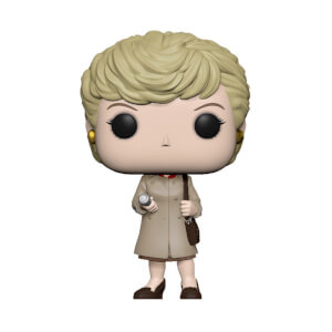 Murder She Wrote Jessica with Trenchcoat and Flashlight Pop! Vinyl Figure