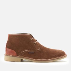 Barbour Men's Kalahari Suede Desert Boots - Dark Sand