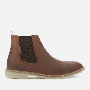 Barbour Men's Atacama Chelsea Boots - Rust Suede