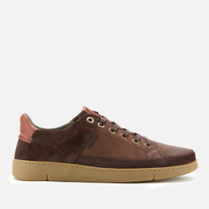 Barbour Men's Bilby Nubuck Trainers - Brown