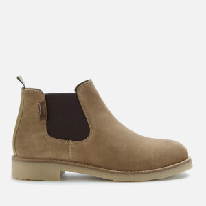 Barbour Women's Nicole Suede Chelsea Boots - Taupe Suede