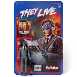 Super7 They Live ReAction Figure - Male Alien