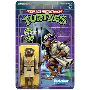 Super7 Teenage Mutant Ninja Turtles ReAction Figure - Undercover Donatello