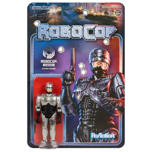 Super7 Robocop ReAction Figure - Robocop Battle Damaged
