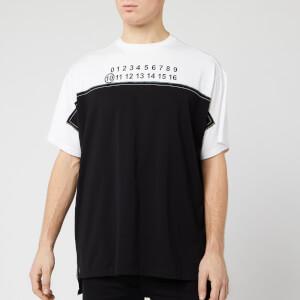 Maison Margiela Men's Hidden Logo T-Shirt - Black