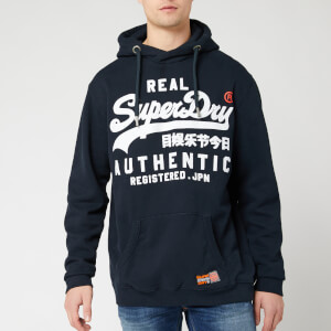 Superdry Men's Reactive Classic Hoody - Eclipse Navy