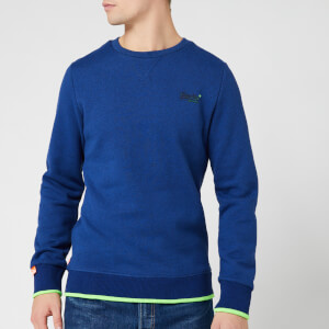 Superdry Men's Orange Label Hyper Pop Crew Sweatshirt - Utah Royal Grit