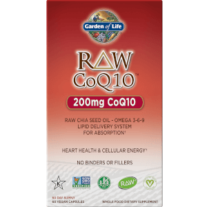 Raw Coq10 - 60 Capsules