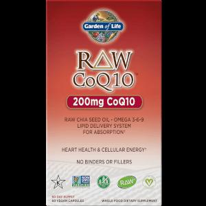 RAW CoQ10 - 60 cápsulas