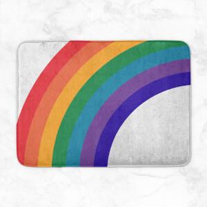 Rainbow Half Rainbow Bath Mat