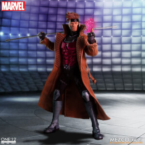 Action figure di Gambit, One:12 Collective, Mezco