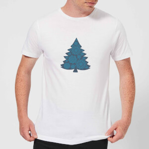 Snowflake tree Men's T-Shirt - White