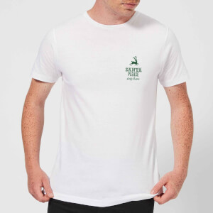 Santa stop Pocket Men's T-Shirt - White