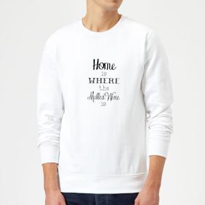Mulled wine Sweatshirt - White
