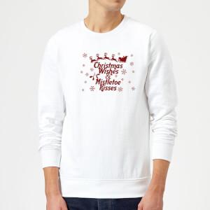 Christmas wishes Sweatshirt - White