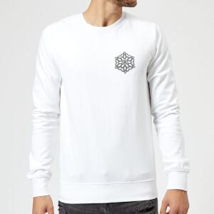 Snow flake Sweatshirt - White