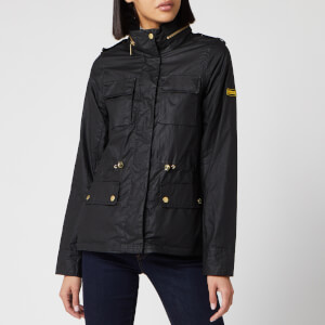 Barbour International Women's Baton Wax Jacket - Black