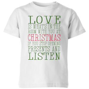 Love Christmas Kids' T-Shirt - White