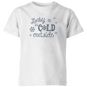 Cold outside Kids' T-Shirt - White