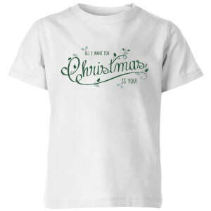 All I want for christmas Kids' T-Shirt - White