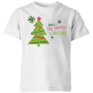 Tree Mendous Kids' T-Shirt - White