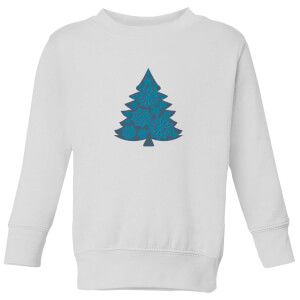 Snowflake tree Kids' Sweatshirt - White