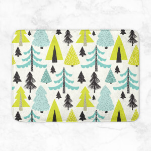Bright Forest Bath Mat