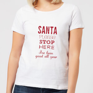 Please santa Women's T-Shirt - White