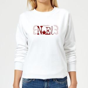 Noel Women's Sweatshirt - White