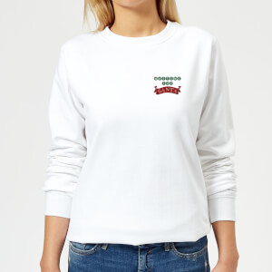 Waiting for Santa Women's Sweatshirt - White
