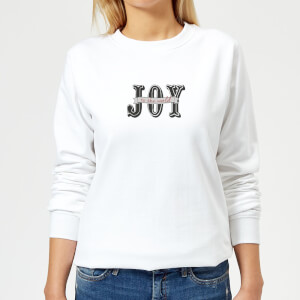 Joy Women's Sweatshirt - White