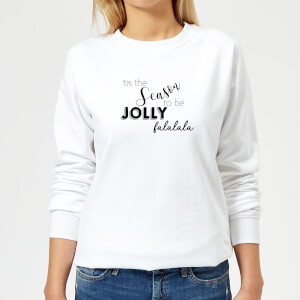 Jolly season Women's Sweatshirt - White