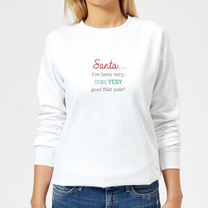 Good this Year Women's Sweatshirt - White