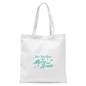 Merry Days Tote Bag - White