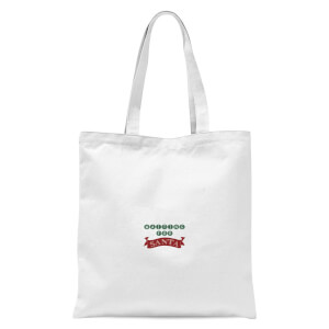 Waiting for Santa Tote Bag - White