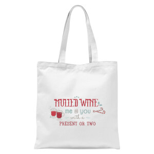 Mulled Wine Tote Bag - White