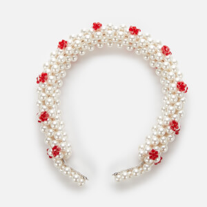 Shrimps Women's Nelly Headband - Cream/Red