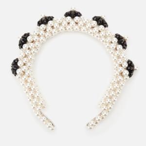 Shrimps Women's Blaze Headband - Cream & Black