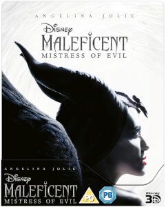 Maleficent: Mistress of Evil - Zavvi Exclusive 3D Steelbook (Includes 2D Blu-ray)