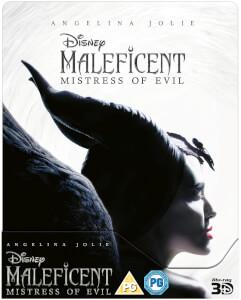 Exclusivité Zavvi : Steelbook Maléfique : Le Pouvoir du Mal - 3D (Blu-ray 2D Inclus)