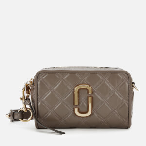 Marc Jacobs Women's The Quilted Softshot 21 - Loam Soil